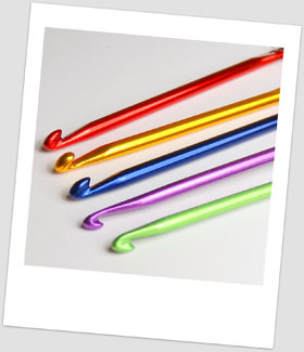 Our range of coloured aluminium mini hooks
